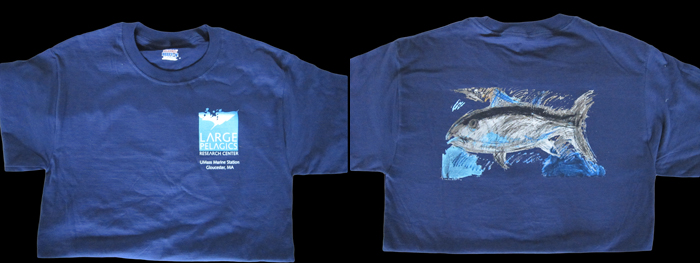t-shirt tuna was created by Jon Sarkin